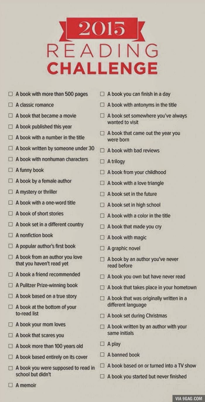 Reto Reading Challenge
