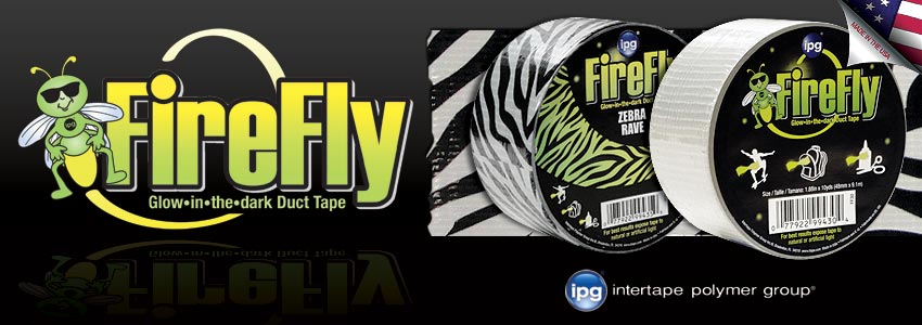 FireFly Glow-in-the-Dark Duct Tape