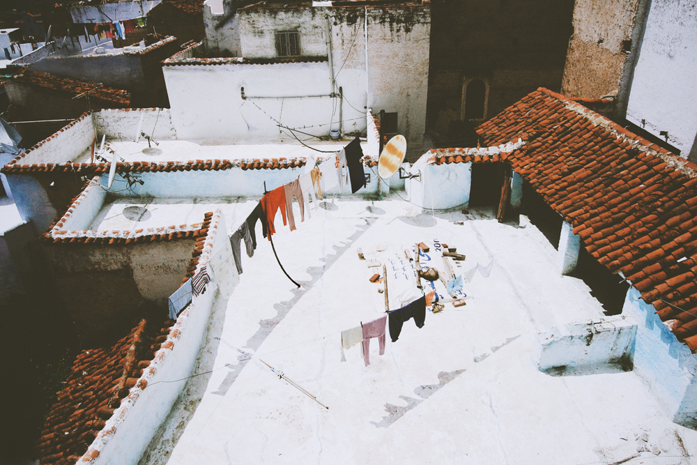 morocco rooftops