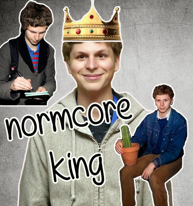 Micheal Cera Normcore plain fashion antifashion ss15 trend thevintagescene