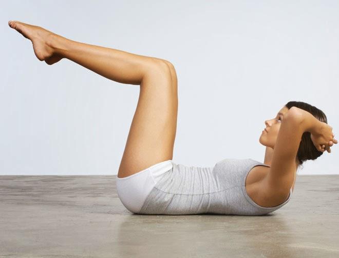 упражнения чтоб убрать жир с икрой