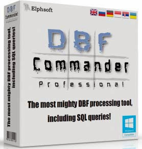 Download DBF Commander Professional 3.1 Build 52 Multilingual Including Keygen