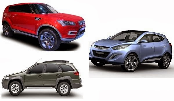 compact SUV cars list