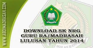 NRG Guru RA/Madrasah Lulusan Tahun 2014