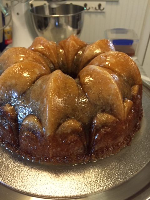 Pecan Molasses Bundt Cake With Bourbon Glaze Recipes — Dishmaps