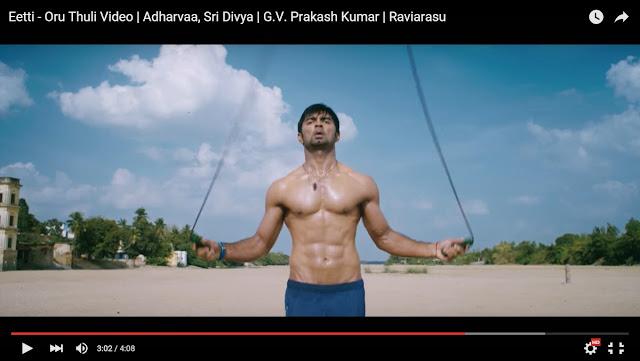 Oru Thuli Full Video Song From Eetti   Adharvaa, Sri Divya   G.V. Prakash Kumar