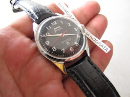 HMT JANATA BLACK MILITARY DIAL - MANUAL WINDING