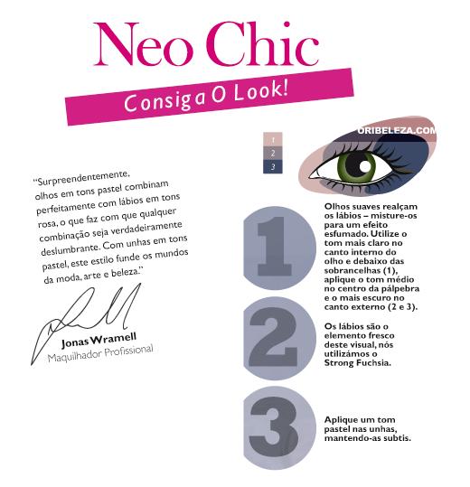 Consiga o Look Net Chic