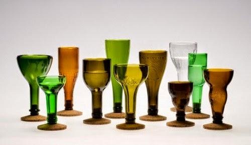 Bottiglie di vetro 30 ottime idee di riciclo creativo for Come faccio a ottenere un prestito per costruire una casa