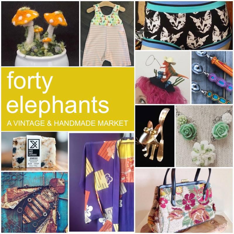 Forty Elephants Vintage Sale