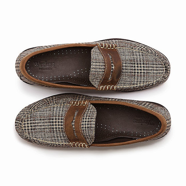 Glen Plaid Weejuns