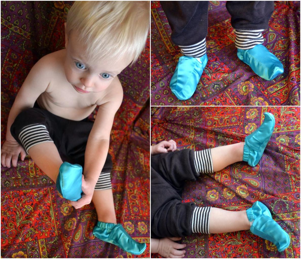 FREE PATTERN Genie Or Jasmine Baby Shoes  sc 1 st  Heather Handmade & FREE PATTERN: Genie Or Jasmine Baby Shoes - Heather Handmade