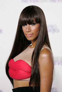 Leona Lewis at the Never Say Never Premiere