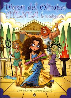 Reseña Atenea la inteligente by Joan Holub & Suzanne Williams
