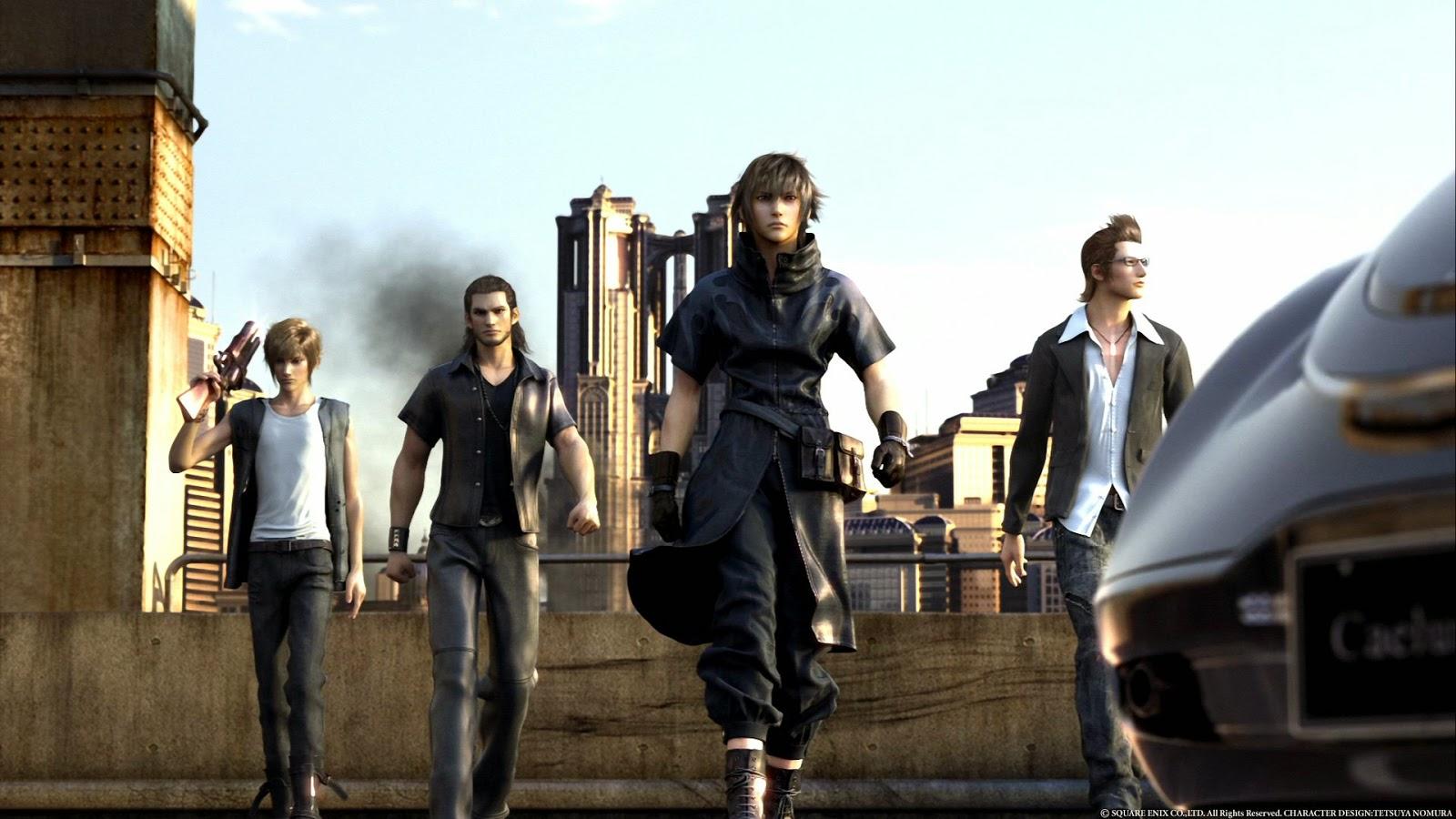 Trailer de Final Fantasy con muy buena pinta