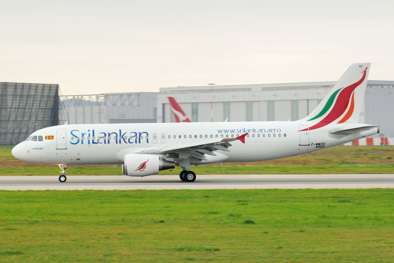 First Photos of SriLankan's 4R-ABN