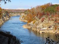 Le Potomac en automne