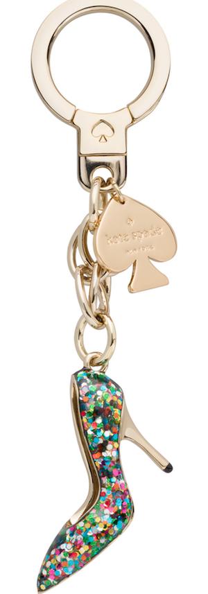 Kate Spade New York 974 Glitter Shoe Keychain