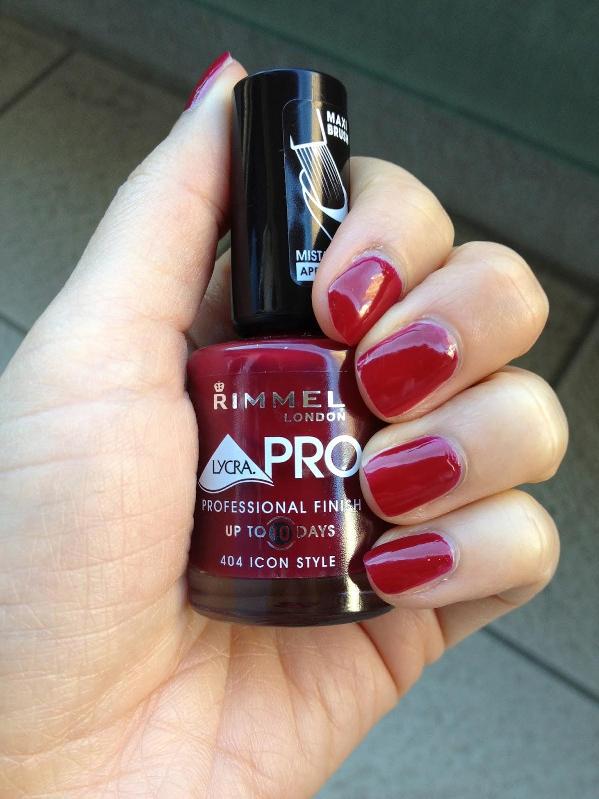 Your Daily Break: Polish of the Week: Rimmel London Lyrca Pro in 404 ...