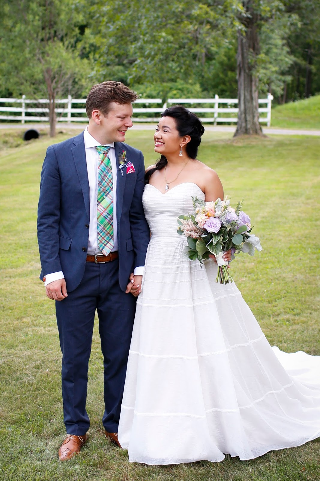 Jessica and Jakes Wedding Story Featured on The Knots My