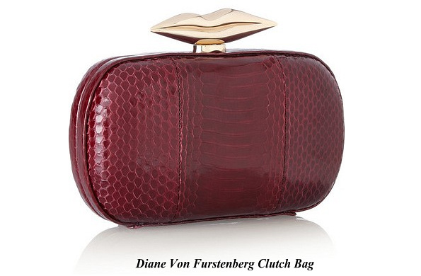 Queen Mathilde's Diane Von Furstenberg Clutch Bag