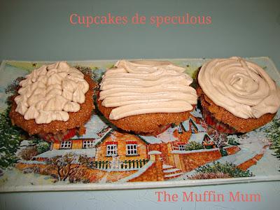 Cupcakes de speculous
