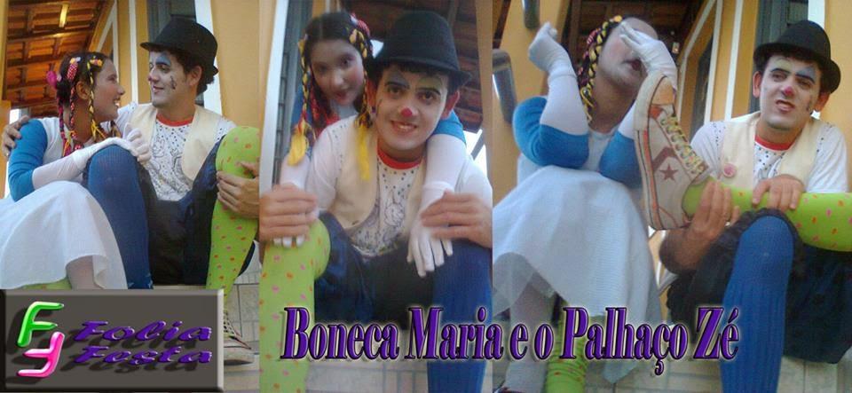 Palhaço Zé e a Boneca Maria