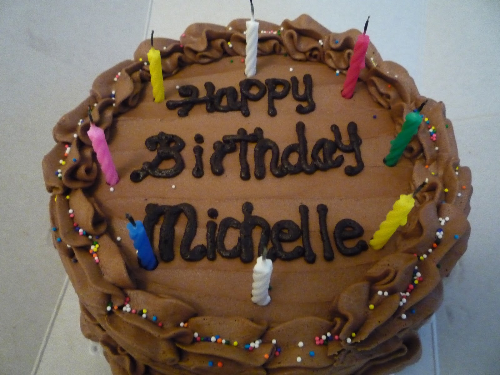 Michelle Cake Artist : Image Gallery happy birthday michelle cake