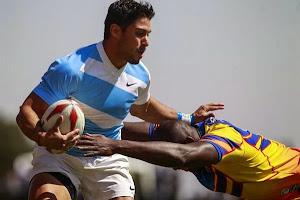Agustín Cortés, jugador de Los Tarcos que participa en los juegos ODESUR