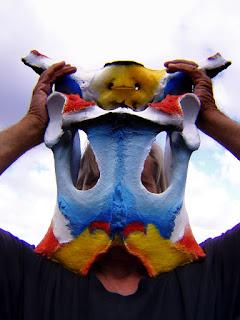 cow pelvis mask