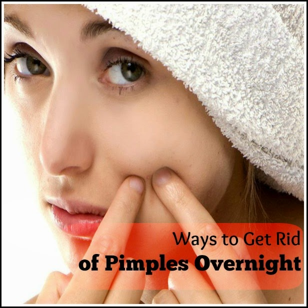 Get rid of pimples in hours