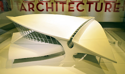 Eero Saarinen at MODA | TWA Terminal at JFK (model)