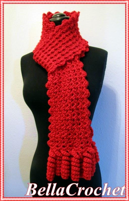 Bellacrochet Curlicue Cutie Scarf A Free Crochet Pattern For You