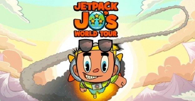 Jetpack Jo's World Tour Oyununu Bitir parayı kap