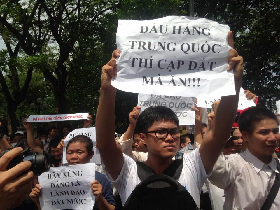 Hn15 danlambao 11.5 Thousands Vietnamese Patriots Protest Against Chinas Aggression