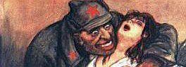 soviet soldier ravages german girl