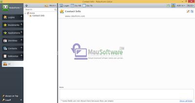 software RoboForm terbaru untuk simpen username dan password secara otomatis