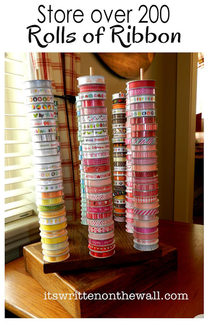 Ribbon in Craft Room Organizing 416 x 640