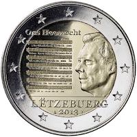 luxenburg erikoiseuro 2013