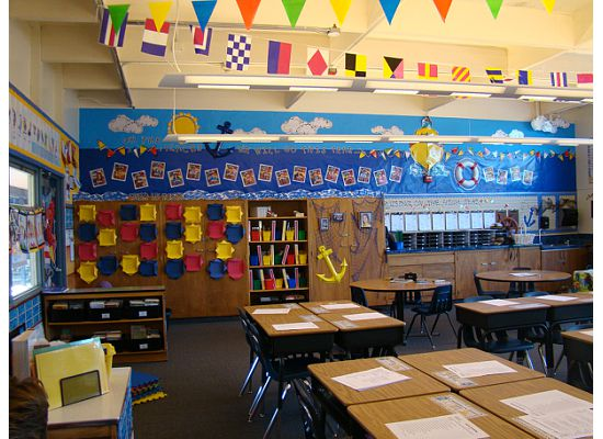 Classroom Decor Nautical ~ Sailing through st grade photos of previous classrooms