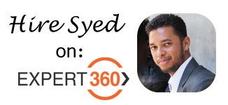 Hire Syed on Expert360