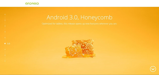 Android 3.0, Honeycomb