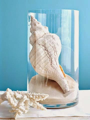 decorating ideas how to decorate with seashells