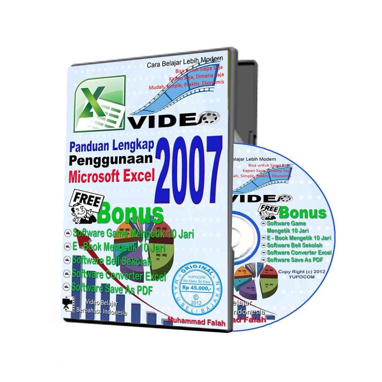 Panduan belajar microsoft excel 2007 pdf mediafire