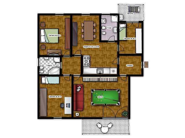 La casa in vetrina soluzioni salvaspazio ricavare una for Piani di casa con due porte anteriori