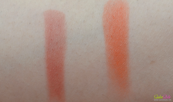 Blushers by Attiqa Odho Colour Cosmetics swatch