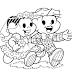 Desenho - Turma da Mônica Namoro - Colorir e Pintar