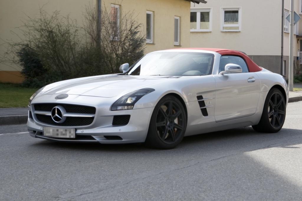 Mercedes-Benz SLS AMG ConvertibleMercedes Sls Amg Convertible