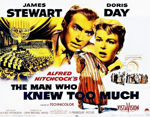 Movie Poster for The Man Who Knew Too Much