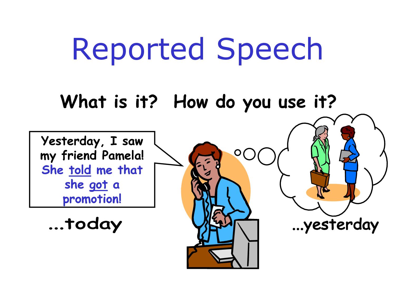 Contoh Soal Direct and Indirect Speech (Reported Speech) dan Pembahasan